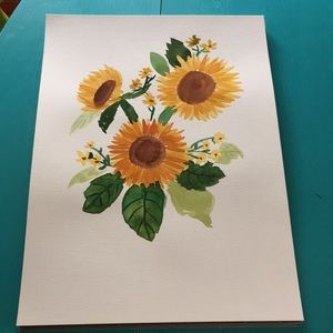 11in x 15in watercolor painting